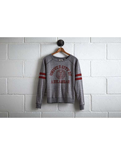 Tailgate Women's Arkansas Crewneck Sweatshirt - Free Returns