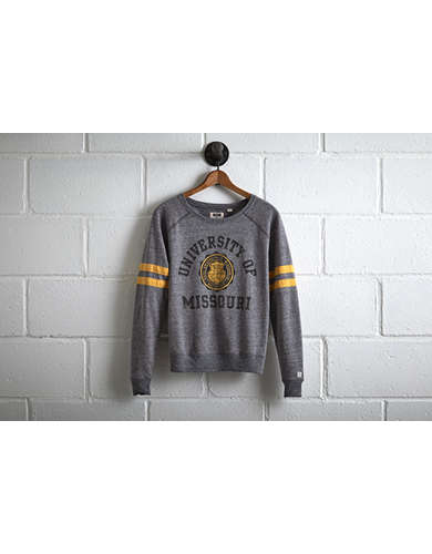 Tailgate Women's Missouri Crewneck Sweatshirt - Free Returns
