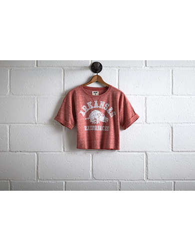 Tailgate Arkansas Cropped Sweatshirt -