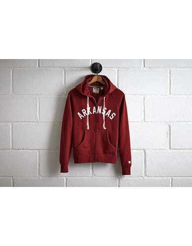 Tailgate Women's Arkansas Zip Hoodie - Free Returns