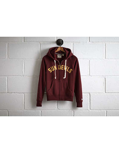 Tailgate Women's Arizona State Zip Hoodie - Free Returns