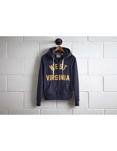 Tailgate Women's West Virginia Zip Hoodie -