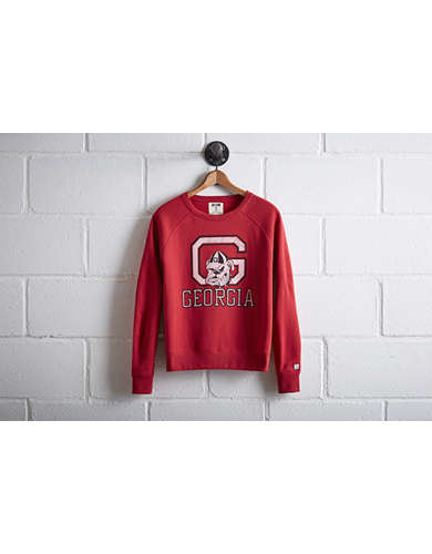 Tailgate Women's Georgia Bulldogs Crew Sweatshirt - Free Returns