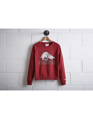 Tailgate Women's Arkansas Crew Sweatshirt - Free Returns