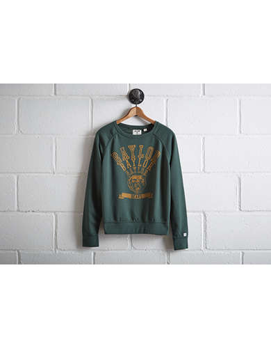 Tailgate Women's Baylor Bears Crew Sweatshirt - Free Returns