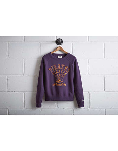 Tailgate Women's ECU Pirates Crew Sweatshirt - Free Returns