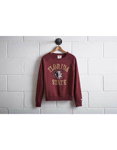 Tailgate Women's Florida State Crew Sweatshirt - Free Returns