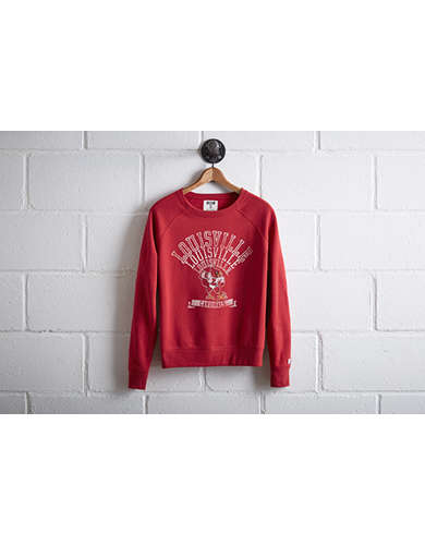 Tailgate Women's Louisville Crew Sweatshirt - Free Returns