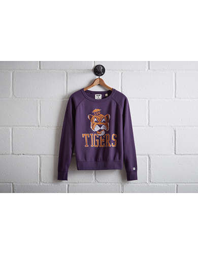 Tailgate Women's LSU Crew Sweatshirt - Free Returns