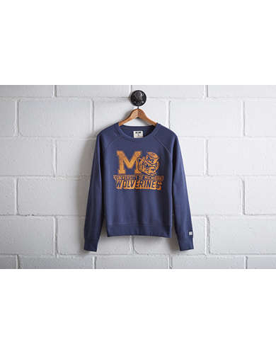 Tailgate Women's Michigan Crew Sweatshirt - Free Returns
