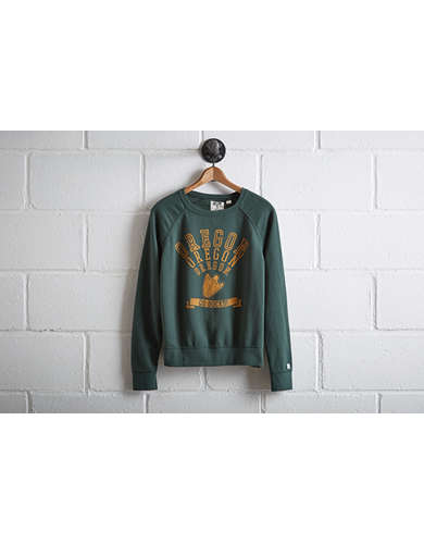 Tailgate Oregon Ducks Crew Sweatshirt -