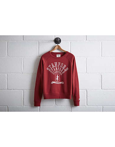 Tailgate Women's Stanford Crew Sweatshirt - Free Returns