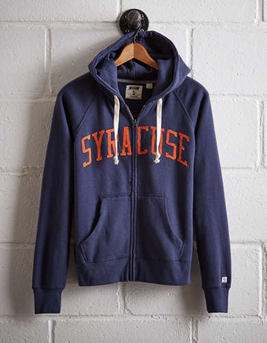 Tailgate Women's Syracuse Zip-Up Hoodie -