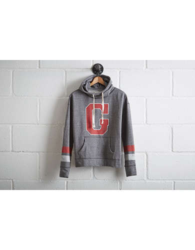 Tailgate Women's Georgia Bulldogs Cowl Neck Hoodie -