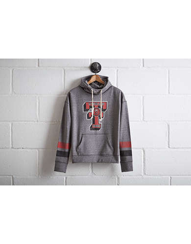 Tailgate Women's Texas Tech Cowl Neck Hoodie - Free Returns