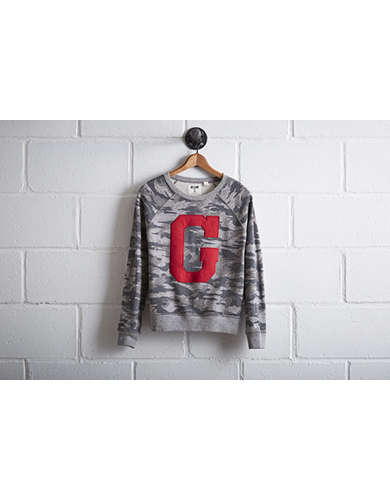 Tailgate Women's Georgia Camo Sweatshirt - Free Returns