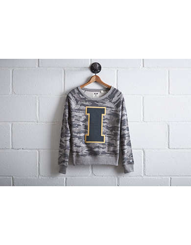 Tailgate Women's Iowa Camo Sweatshirt - Free Returns