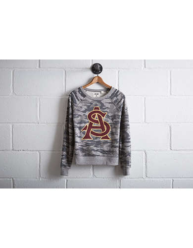 Tailgate Women's Arizona State Camo Sweatshirt - Free Returns
