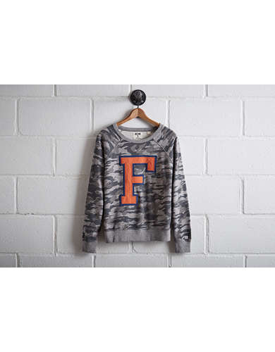 Tailgate Women's Florida Camo Sweatshirt - Free returns