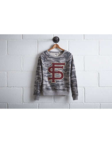 Tailgate Women's Florida State Camo Sweatshirt - Free Returns