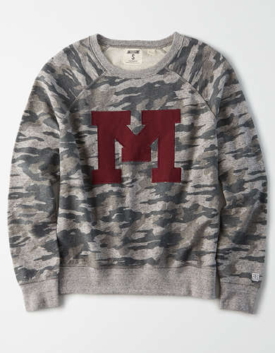 Tailgate Women's Minnesota Golden Gophers Camo Sweatshirt
