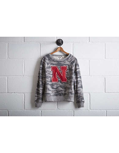Tailgate Women's Nebraska Camo Sweatshirt - Free Returns