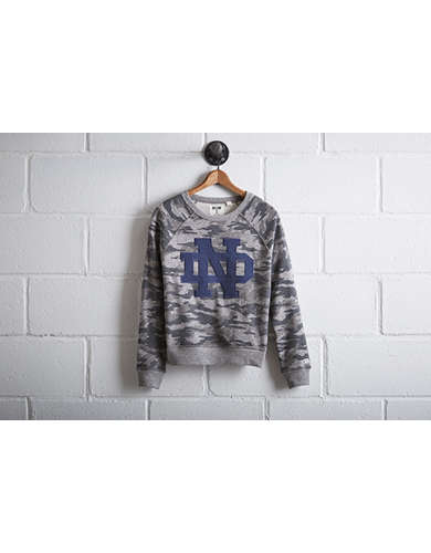 Tailgate Women's Notre Dame Camo Sweatshirt - Free shipping & returns with purchase of NBA item