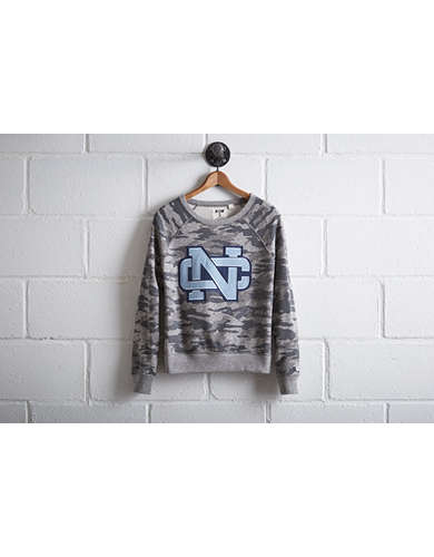 Tailgate Women's UNC Camo Sweatshirt - Free returns