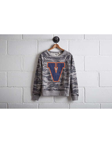 Tailgate Women's UVA Camo Sweatshirt - Free returns
