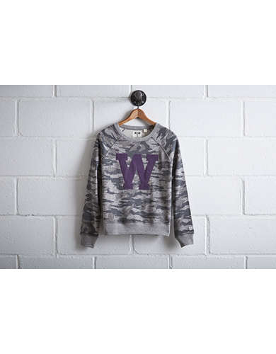 Tailgate Women's Washington Camo Sweatshirt -
