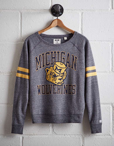 Tailgate Women's Michigan Fleece Sweatshirt -