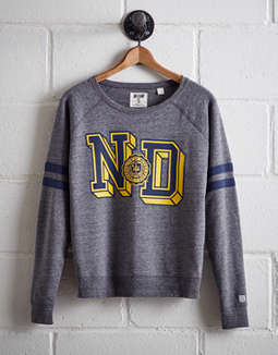 Tailgate Women's Notre Dame Fleece Sweatshirt by American Eagle Outfitters