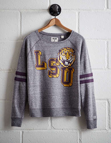 Tailgate Women's LSU Tigers Fleece Sweatshirt - Free shipping & returns with purchase of NBA item