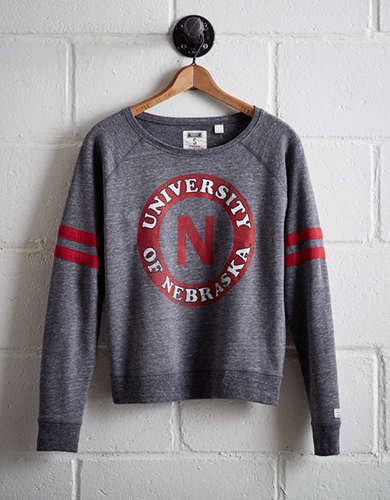 Tailgate Women's Nebraska Fleece Sweatshirt -