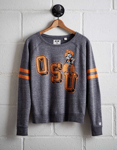 Tailgate Women's Oklahoma State Fleece Sweatshirt - Free Returns