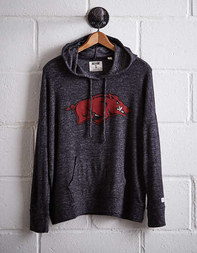 Tailgate Women's Arkansas Plush Hoodie -