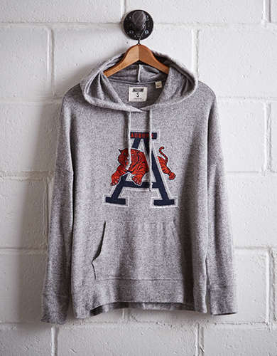 Tailgate Women's Auburn Plush Hoodie - Free Returns