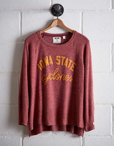Tailgate Women's Iowa State Plush Tee - Free Returns