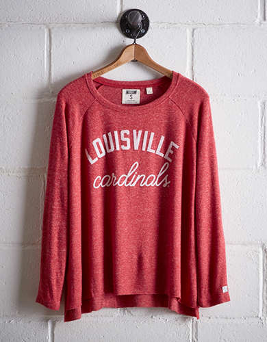 Tailgate Women's Louisville Plush Tee - Free Returns