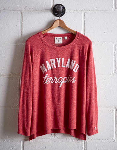 Tailgate Women's Maryland Plush Tee - Free Returns