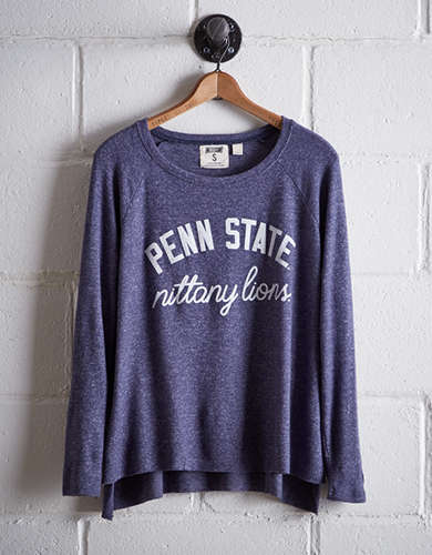 Tailgate Women's Penn State Plush Tee - Free Returns