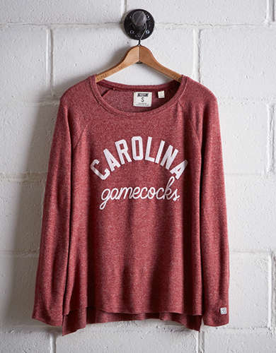 Tailgate Women's South Carolina Plush Tee - Free Returns
