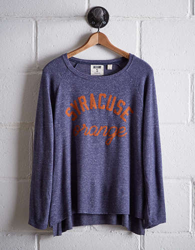 Tailgate Women's Syracuse Plush Tee - Free Returns