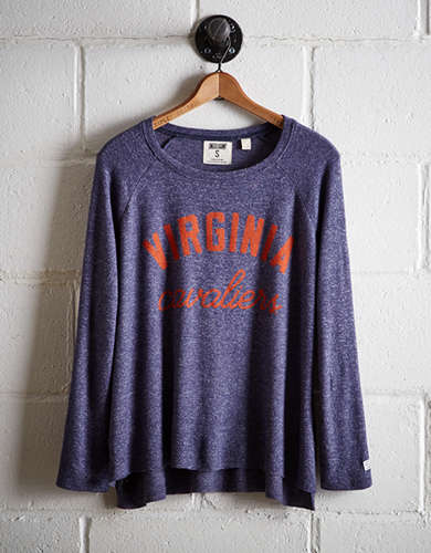 Tailgate Women's UVA Plush Tee - Free Returns