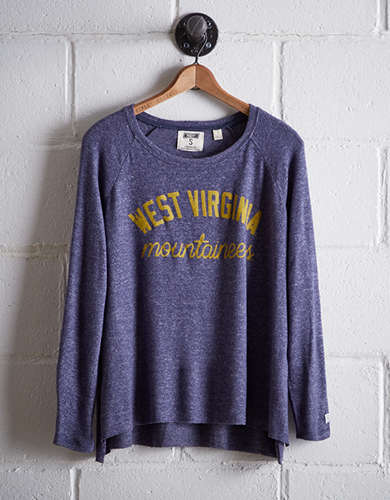 Tailgate Women's WVU Plush Tee - Buy One Get One 50% Off