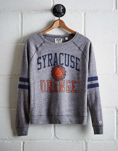 Tailgate Women's Syracuse Varsity Sweatshirt - Free Returns