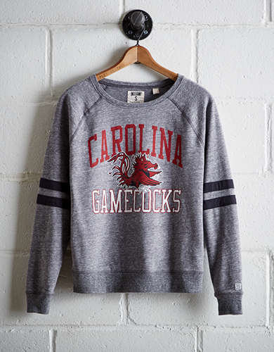 Tailgate Women's South Carolina Varsity Sweatshirt - Free Returns