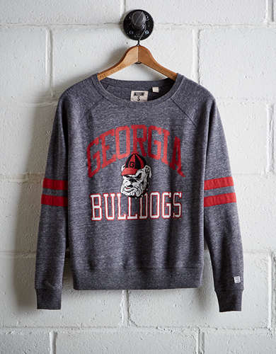 Tailgate Women's Georgia Varsity Sweatshirt - Free Returns