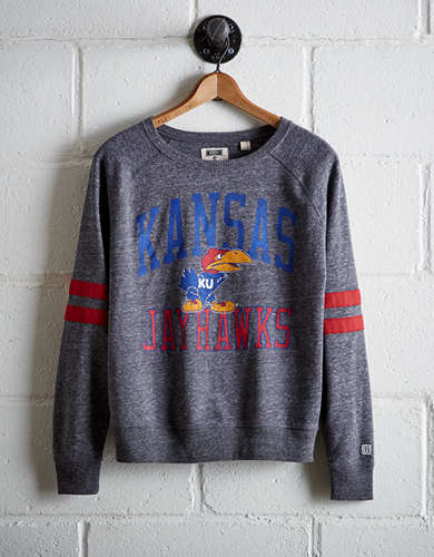 Tailgate Women's Kansas Varsity Sweatshirt - Free Returns