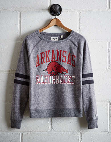 Tailgate Women's Arkansas Varsity Sweatshirt - Free Returns
